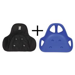 Pack Siège Lotus Triad bleu + Housse de siège rembourrée JR