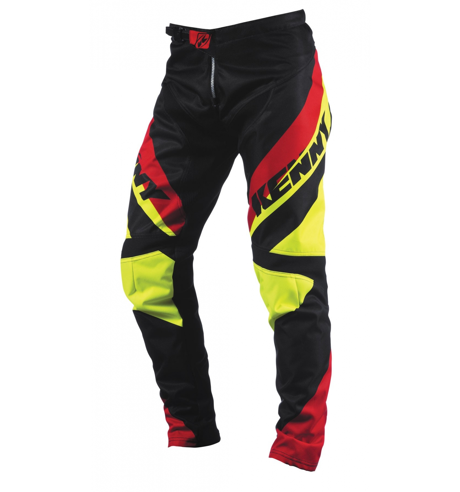 pantalon kenny bmx 2015 jaune fluo rouge - Chambre Jaune Fluo