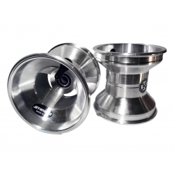 Jante de Karting 120 mm Silver
