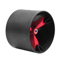 Roues 49'er Triad Drift Trikes noir / Rouge (axe 15mm)