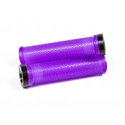 Poignées M-Trix SIXPACK Purple / Lock-On