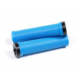 Poignées M-Trix SIXPACK-Racing Bleues / Lock-On
