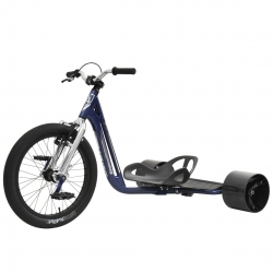 Triad Drift Trike Underworld 3 Bleu / Chrome