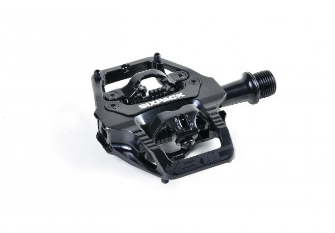 Pédales Sixpack-Racing Vertic (Q-Factor : 525mm)