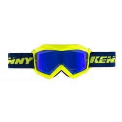 Masque KENNY TRACK PLUS Enfant jaune fluo neon