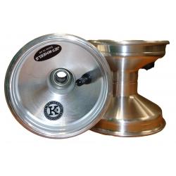 Jante de Karting  JET WHEELS 120 mm silver (l'unité)