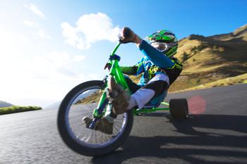 l'equipe Modern Ride de sortie Drift Trike