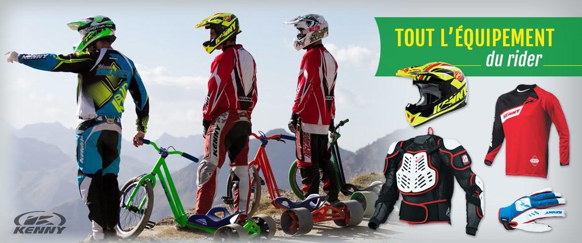 Equipement du Rider - Drift Trike