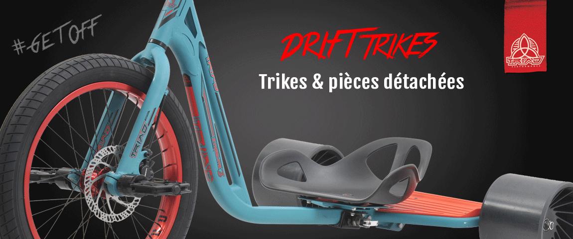 Drift Trikes 2017 - Les nouveaux Trikes & Pièces détachées de la gamme 2017 enfin sur Modern Ride !