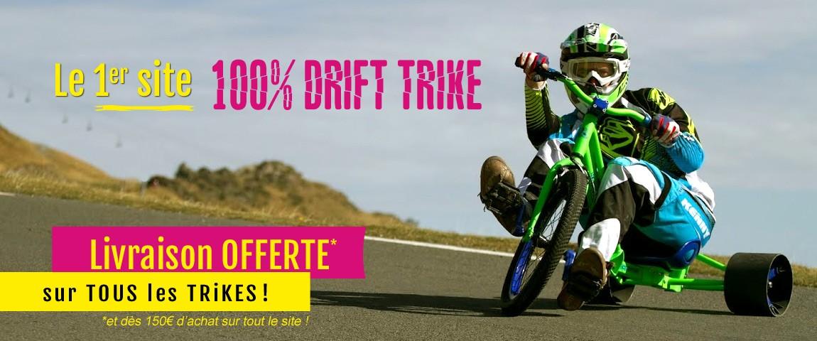 ModernRide.fr - Le 1er site spécialisé 100% Drift Trike !