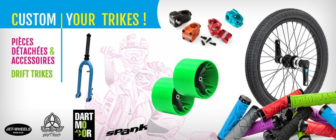 Pièces détachées et accesoires pour votre Drift Trike