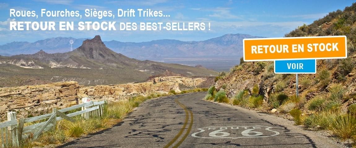 Retour en stock de vos produits préférés sur ModernRide.fr !